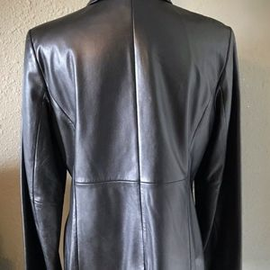 Express Jackets & Coats - Beautiful Black Leather Jacket by Express ~ Size 1